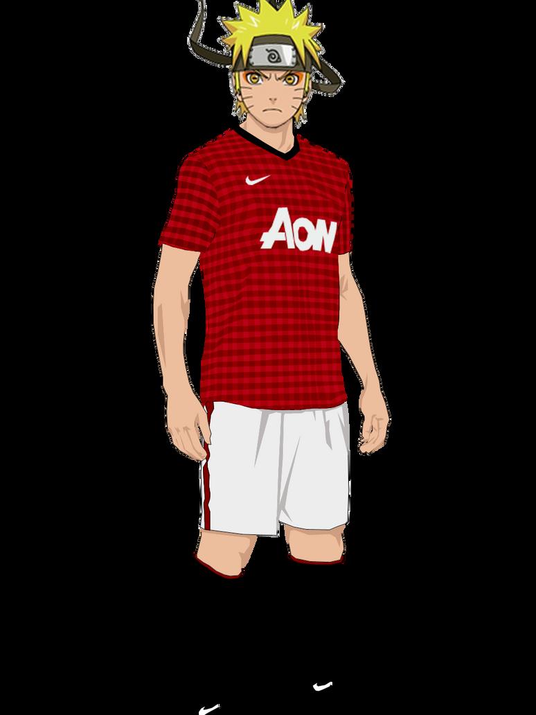 a88884947 Naruto Manchester United render by RendyLJoex on DeviantArt