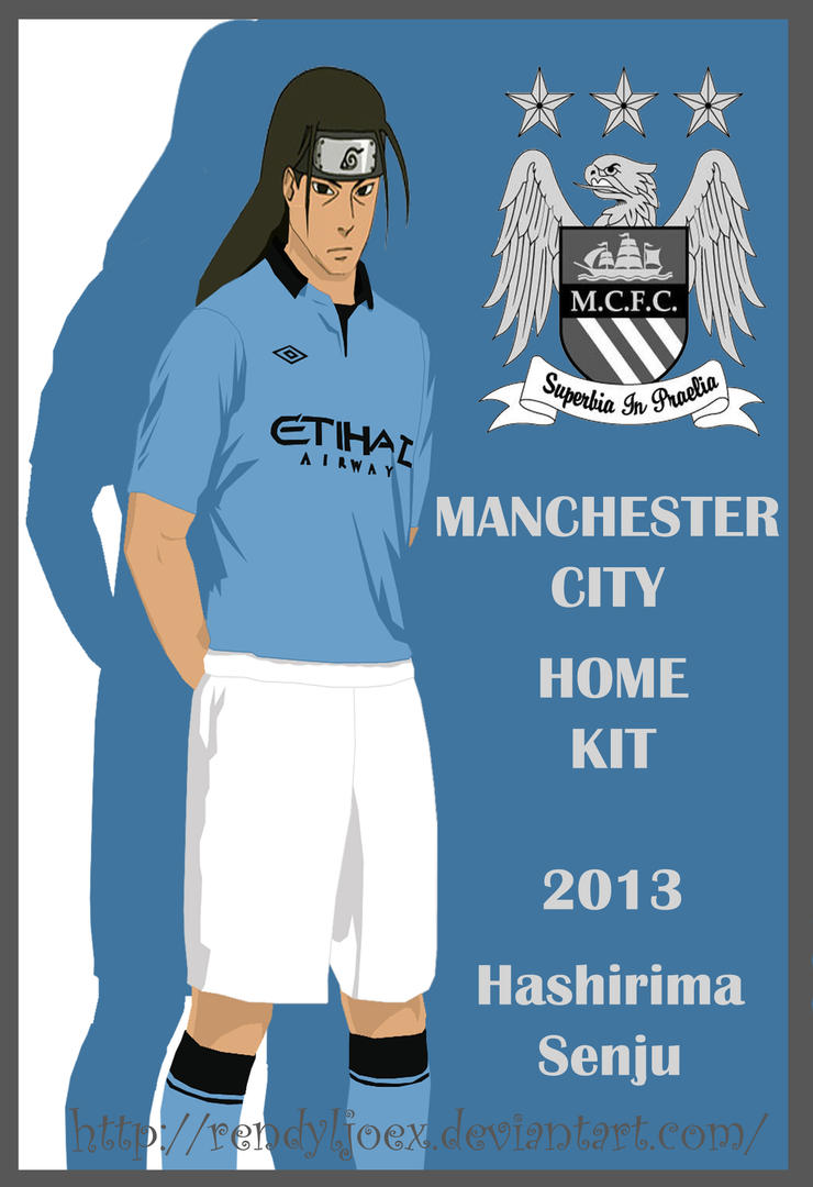 Hashirima Manchester City Home Kit 2012 - 2013 by ...