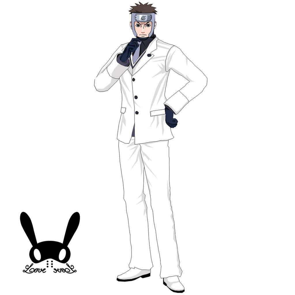 Captain yamato casual tuxedo render by rendyljoex on - Yamato render ...