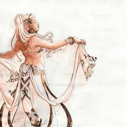 Dancer-dyptique - Tania side
