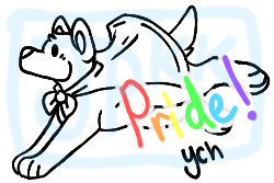 Pride YCH 2018 | OPEN by JurassicPunkk