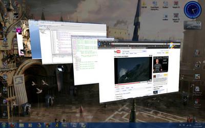 Current Desktop by Ertxz18
