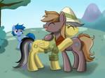 A Warm Reuniting of Friendship