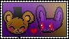 [FNaF] Fronnie Stamp-Freddy x Bonnie-Free to use! by xNaviix