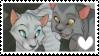 Graystripe x Silverstream (Stamp) by xNaviix