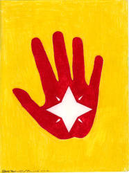 Hand and Star by CherokeeGal1975