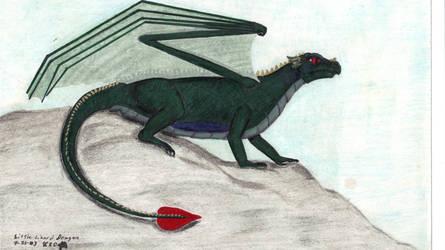 Little Lizard Dragon by CherokeeGal1975