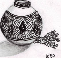 Pot Sketch by CherokeeGal1975