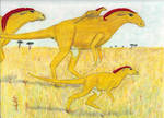 Savana Striders by CherokeeGal1975