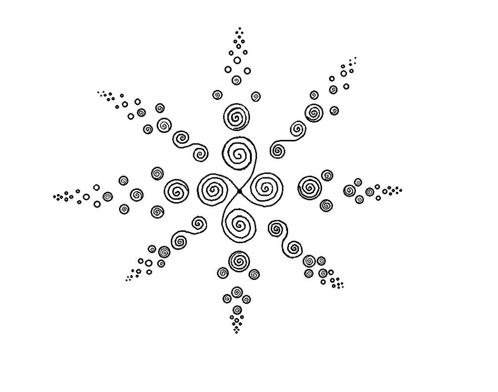 Whorl Design with MS Paint Fix by CherokeeGal1975
