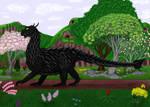Lesser Black Dragon by CherokeeGal1975