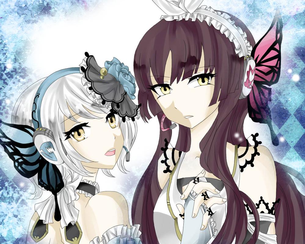 Kagura and yukino by xx0015xx on deviantart - Kagura fairy tail ...