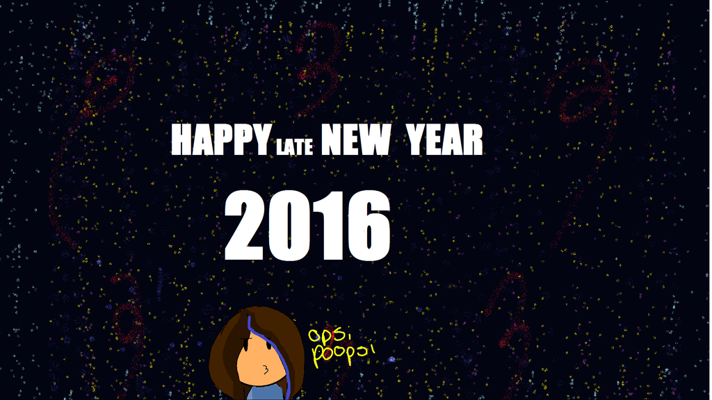 Happy Late New Year by poseidongal1