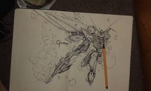 Gundam Wing sketch