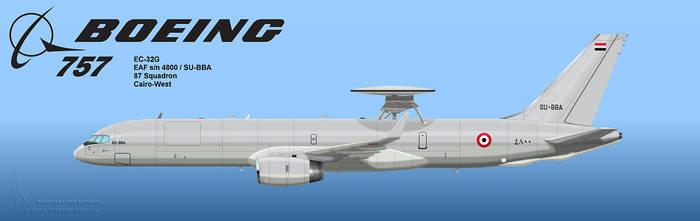 Egyptian AEW 757 1
