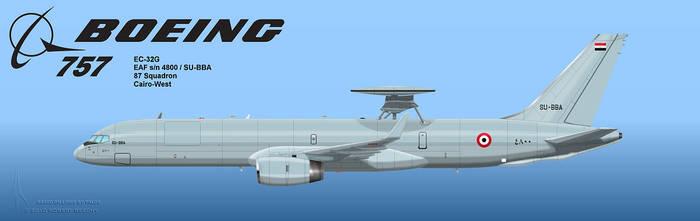 Egyptian AEW 757 2