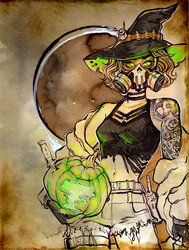 Nuclear Halloween + Video by AshHavynn