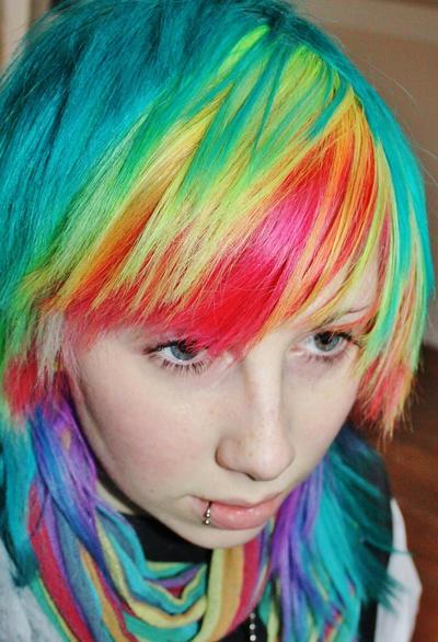 Manic Panic Hair Dye On Natural Black Hair