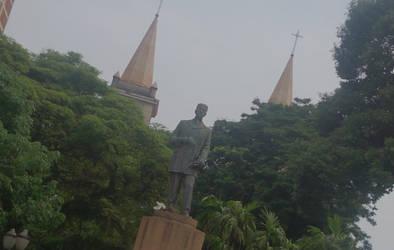 Monumento a Luiz de Queiroz.