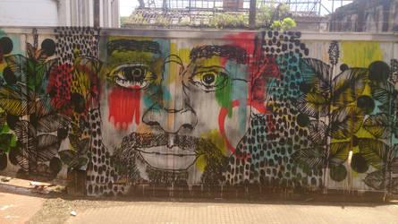 Grafitti no bairro Monte Alegre em Piracicaba 3