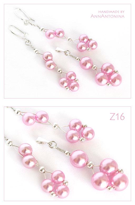 Pink Pearls Set Z16 By Annantonina On Deviantart