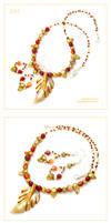 Autumnal Leaf - set Z317