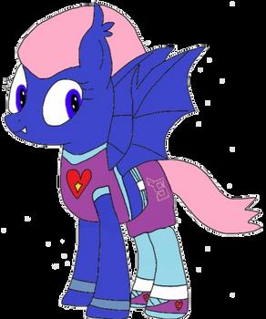 Allie Way the Bat pony