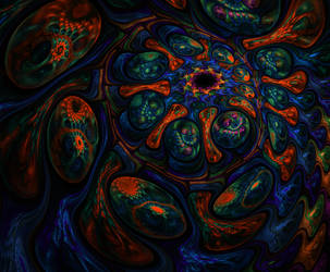 Dance around the fractal by zgxtbh