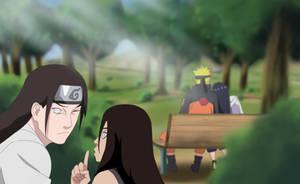 Naruto 678 Naruto X hinata by m8jin12