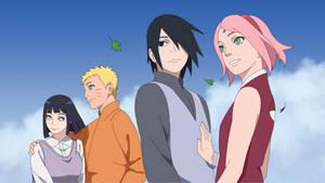Naruto Hinata- Sasuke Sakura
