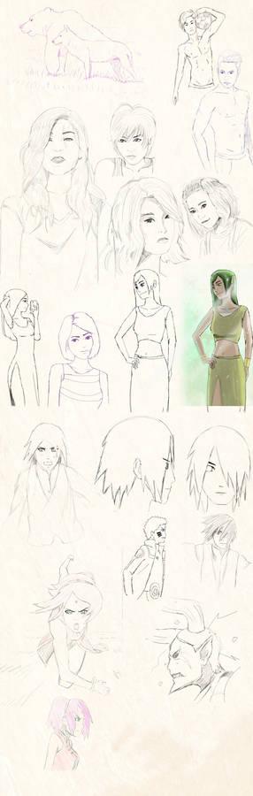 Sketchs and pratice