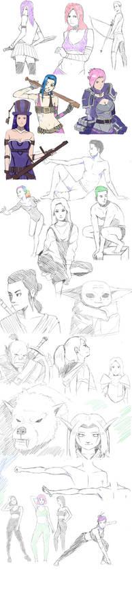 Sketchs Jan/Feb