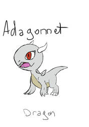 Adagonnet by PokebladeRED