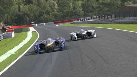 Racing Sebastian Vettel by TheTalkingAnus
