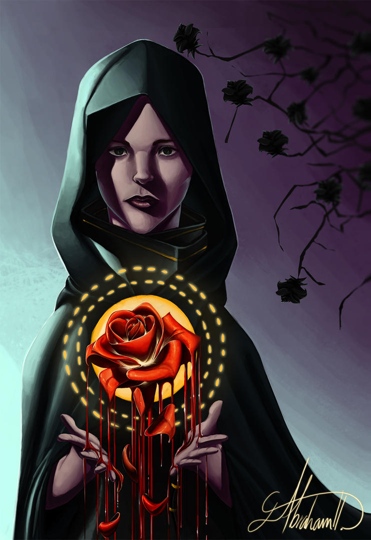 Dying rose by abrahamdavid