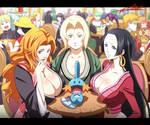 Pokemon,Naruto,Bleach,OnePiece
