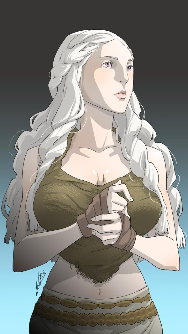 GoT: Daenerys Targaryen by kevinTUT