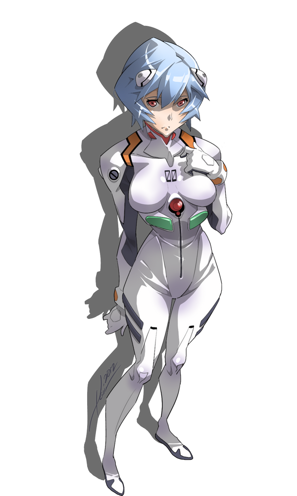 Rei Ayanami by kevinTUT