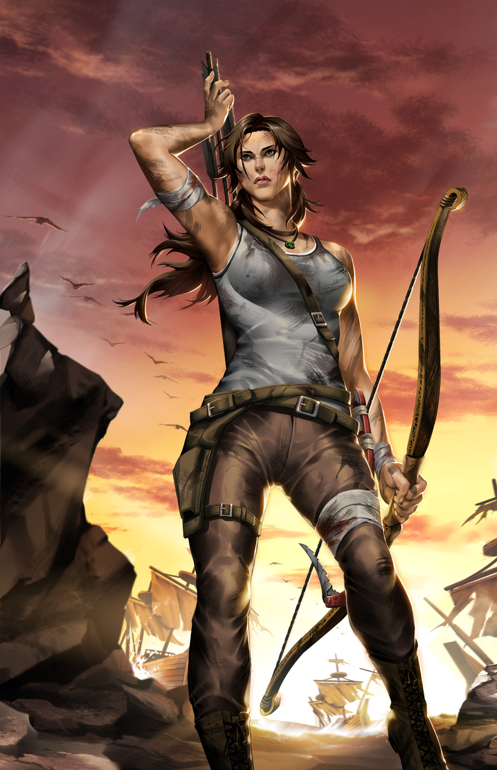 Tomb Raider Reborn Contest Entry by kevinTUT