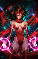 Scarlet Witch by kevinTUT