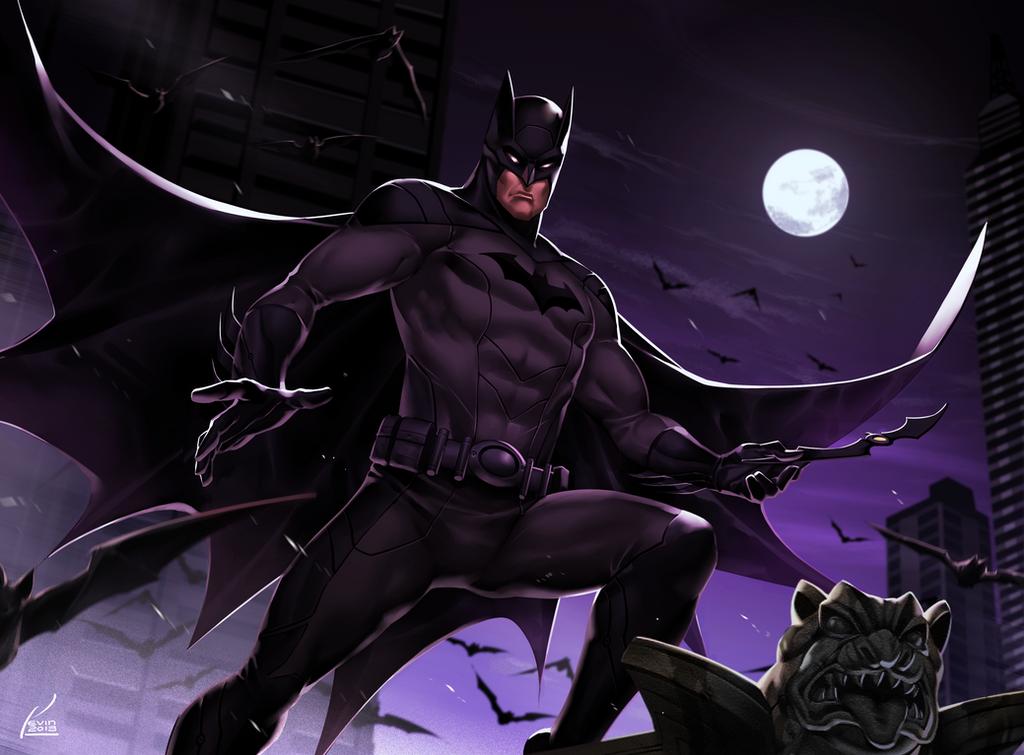 Batman by kevinTUT