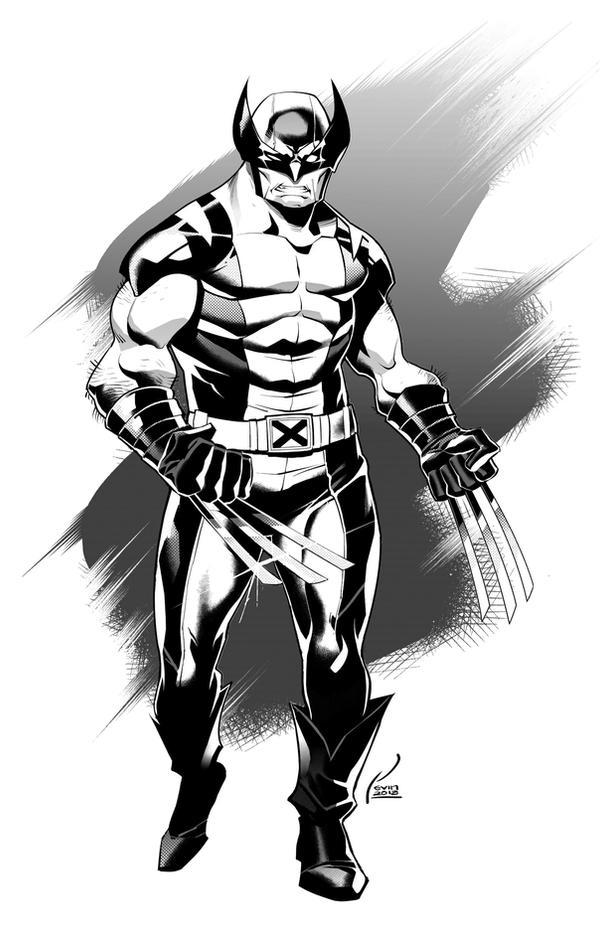 Wolverine inks by kevinTUT