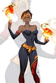 Commission: Flamedancer