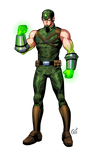 Commission 2015: Fusion Man