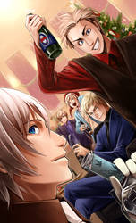 APH MERRY CHRISTMAS 2010 by EvilApple513