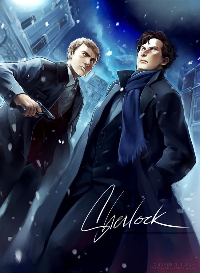 SHERLOCK by EvilApple513