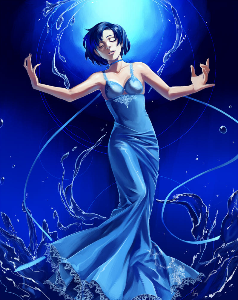 Princess Mercury by EvilApple513