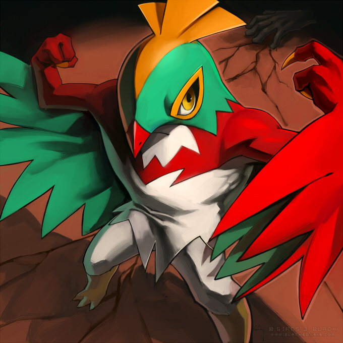 HAWLUCHA by EvilApple513