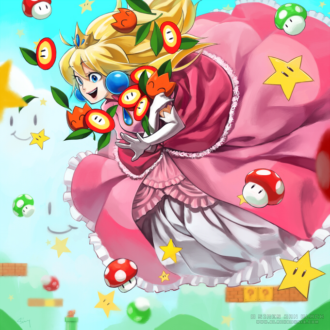 Mario Party Peach S Birthday Cake Rom Nintendo