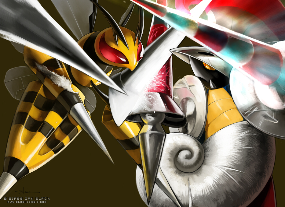 MEGABEEDRILL VS ESCAVALIER by EvilApple513